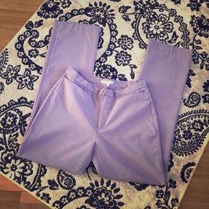 Zara lavender long summer pants